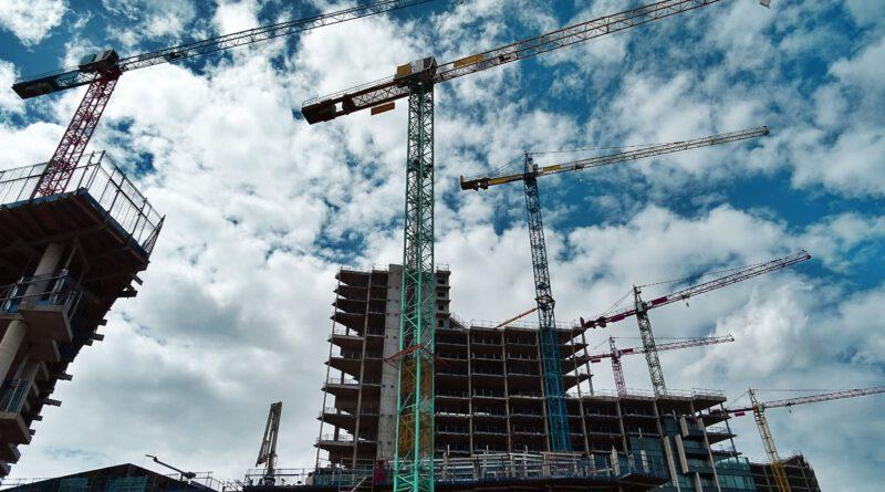 hoogwerker in de bouw